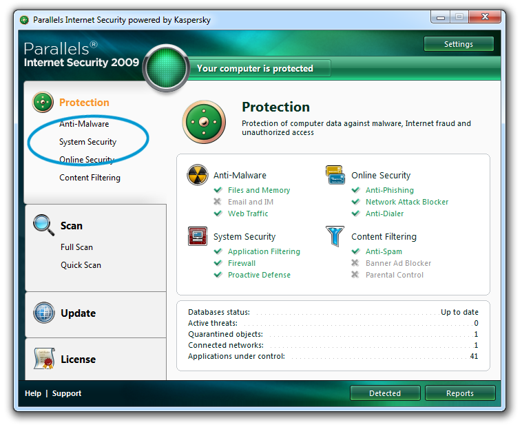 Download Kaspersky.