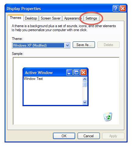 iScreensaver : Update Video Drivers