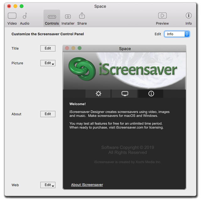 iScreensaver : User Guide